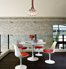modern dining room by KuDa Photography