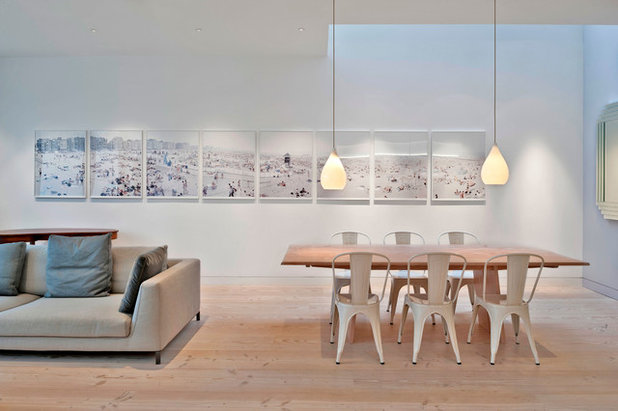 Contemporain Salle à Manger Contemporary Dining Room