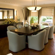 Contemporary Dining Room by AMI Designs