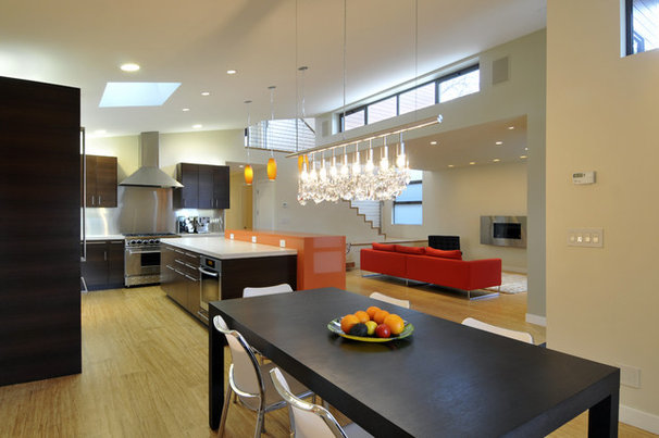 Contemporary Dining Room by Ana Williamson Architect
