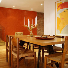 Contemporary Dining Room by Axis Mundi