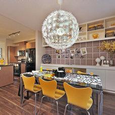 Contemporary Dining Room by Calvert Design Studio