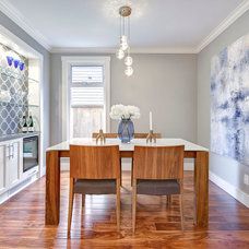 Contemporary Dining Room by Total 360 Photography