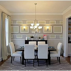Contemporary Dining Room by Color Fresh Home Designs