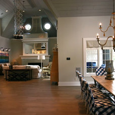 Contemporary Dining Room by Cornerstone Interiors
