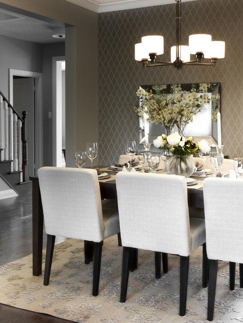 Silk area rug dining room design ideas remodels photos - Dining room area rugs ideas ...