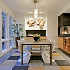 Contemporary Dining Room by D3 Design/Build