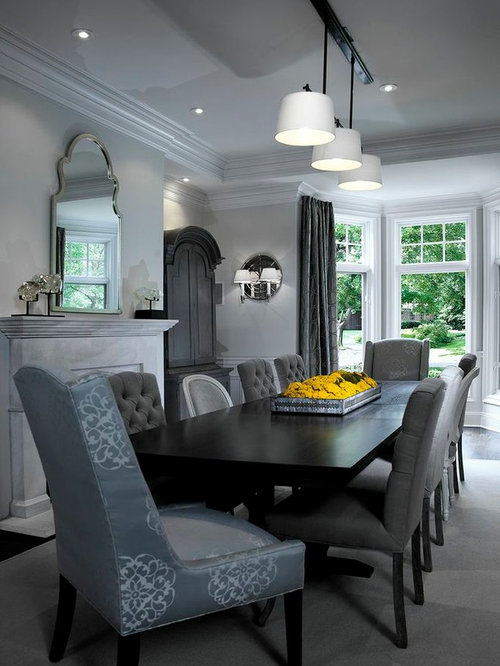 Long narrow room dining room design ideas remodels photos for Narrow dining room ideas