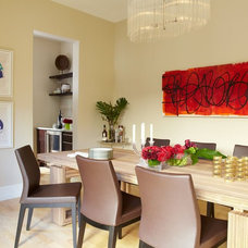Contemporary Dining Room by Denise McGaha Interiors