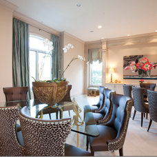 Contemporary Dining Room by Dodson and Daughter Interior Design