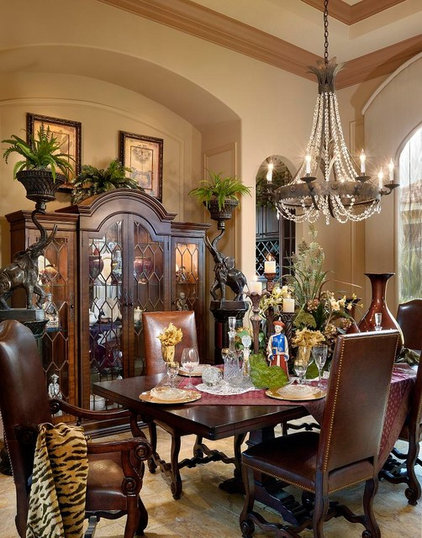 Contemporary Dining Room by Dreamstar Custom Homes