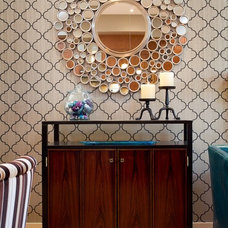Contemporary Dining Room by Decorating Den Interiors - Decorate with Kate