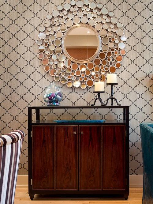 Round Decorative Mirrors | Houzz