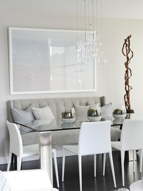 Banquette dining room houzz for Dining room banquette