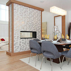 Contemporary Dining Room by Eymeric Widling Photography