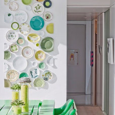 Contemporary Dining Room by Ghislaine Viñas Interior Design