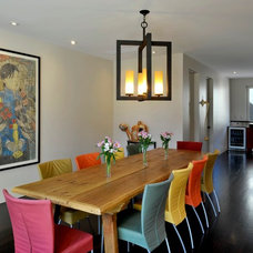 Contemporary Dining Room by HMH Architecture + Interiors