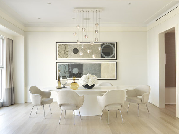Contemporary Dining Room by Jessica Lagrange Interiors