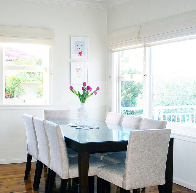 Contemporary Dining Room by Ish and Chi