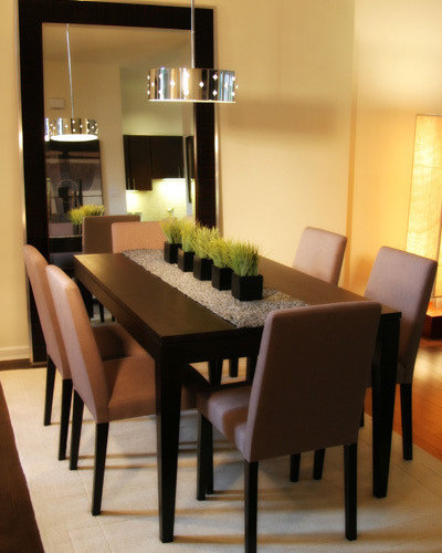 Dining Room Ideas Houzz: Large Leaning Mirror Home Design Ideas, Pictures, Remodel
