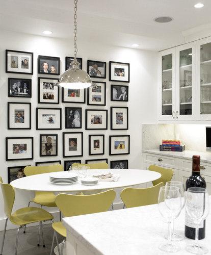Family Friendly Kitchen Houzz: Wall Family Photos