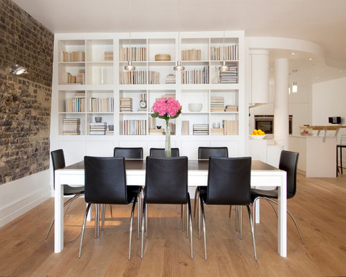 Contemporary Dining Room Idea In London Part 65