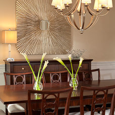 Traditional Dining Room by Lauren Nicole Designs