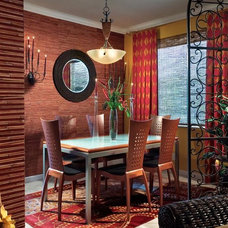 Contemporary Dining Room by Myriam Payne