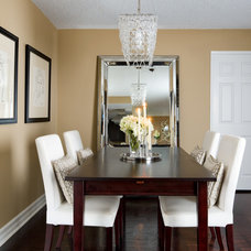 Contemporary Dining Room by Jackie Di Cara Design