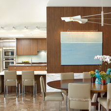 Contemporary Dining Room by Jaffe Architectural Group