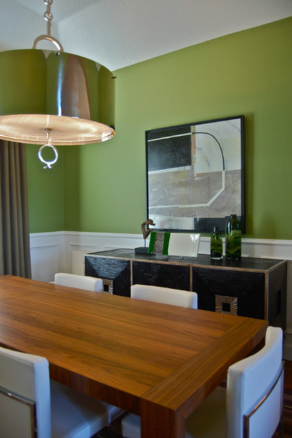 Contemporary Dining Room by Jason Ball Interiors, LLC