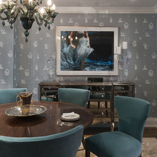 Contemporary Dining Room by Jill Greaves Design