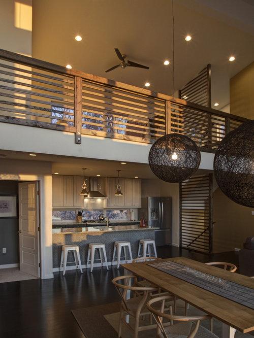 Kitchen Dining Room Combo Modern Mid Century