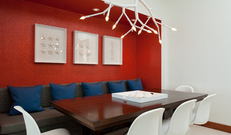 How to Work With Red Walls