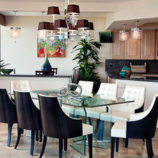 Contemporary Dining Room by LS Interiors Group, Inc.