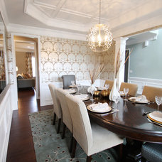 Contemporary Dining Room by Lucy and Company