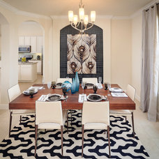 Contemporary Dining Room by Mead Design