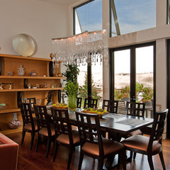 modern dining room by modern house architects