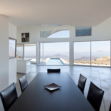 Contemporary Dining Room - Mountain Top House