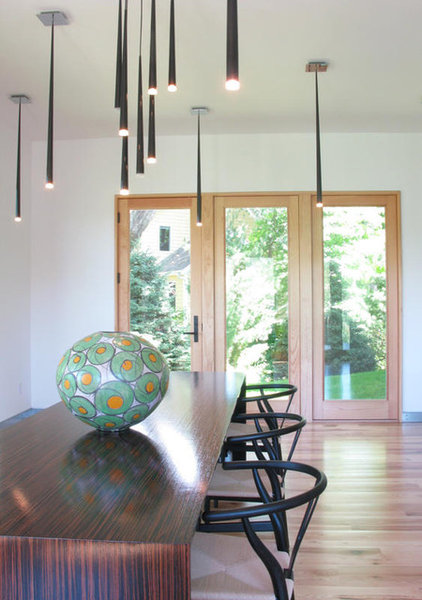 Contemporary Dining Room by Murphy & Co. Design