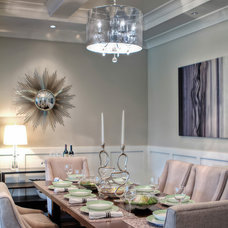 Contemporary Dining Room by nuHaus homes ltd