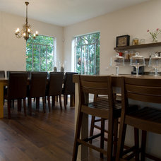 Rustic Dining Room Contemporary Dining Room