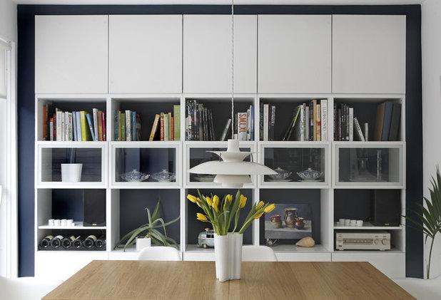 10 rangements malins pour petits espaces for Salle a manger contemporain