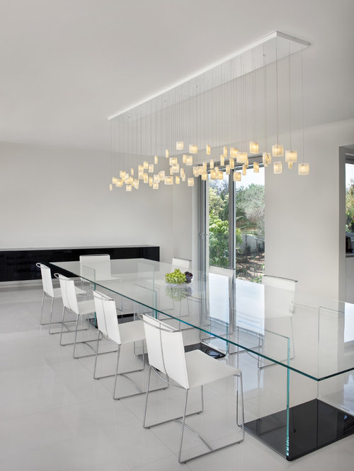 Save. Contemporary Dining Room, Orchids Chandelier ...