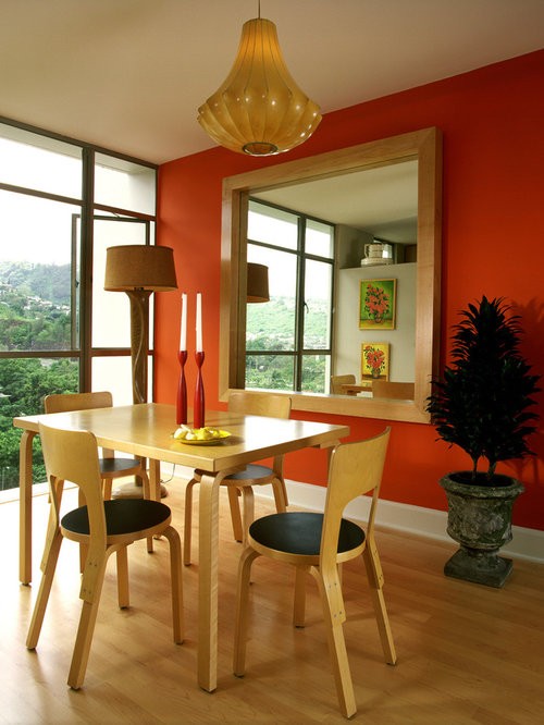 orange walls | houzz