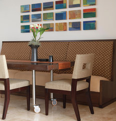 contemporary dining room by Philpotts Interiors