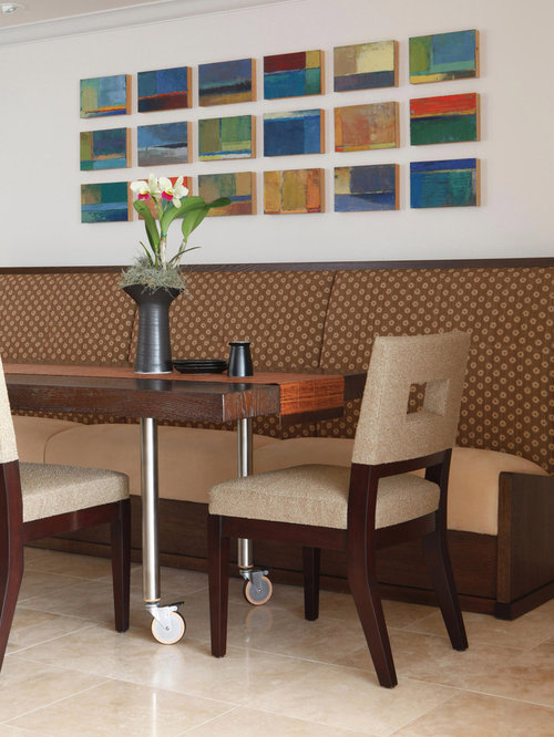 upholstered chairs with wheels - Dining Room Table And Chairs With Wheels
