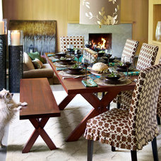 Contemporary Dining Room by Pier 1 Imports