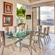 Contemporary Dining Room by Pinnacle Architectural Studio