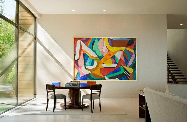 Art conseils de pro pour mettre en valeur une peinture for Tableau pour salle a manger